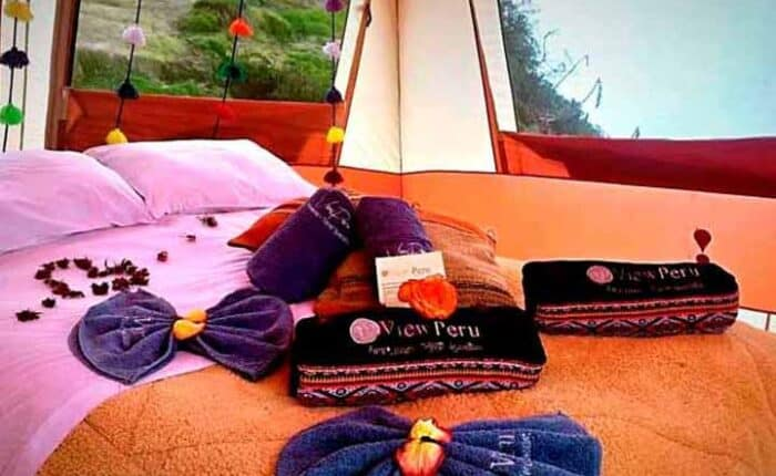 luxurious-room-camping-inca-trail