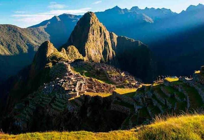 inca trail 2 day hike machu picchu